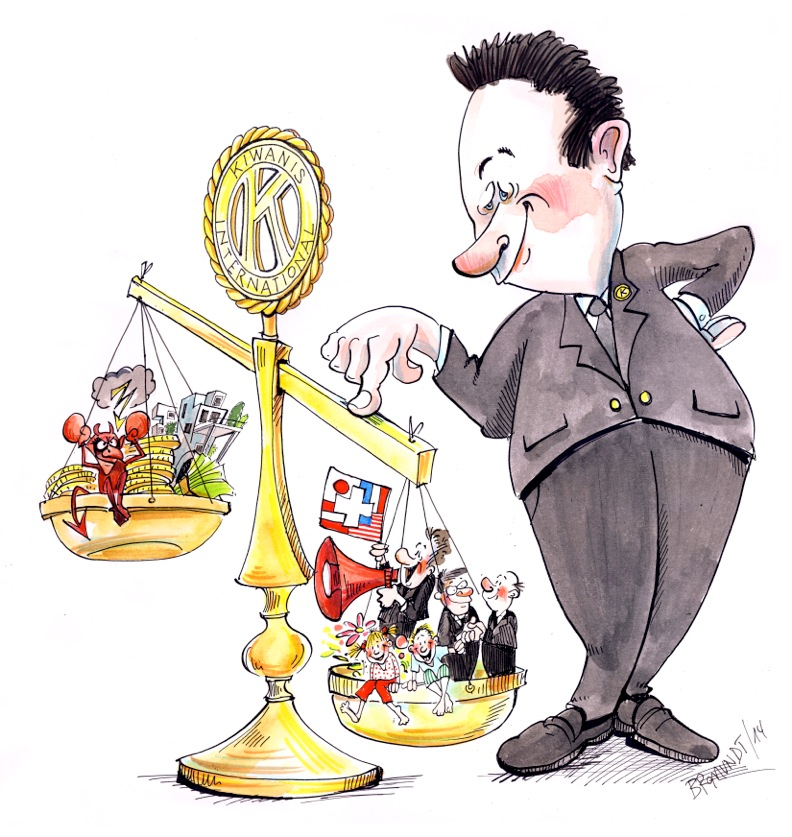 Karikatur Corinne Bromundt